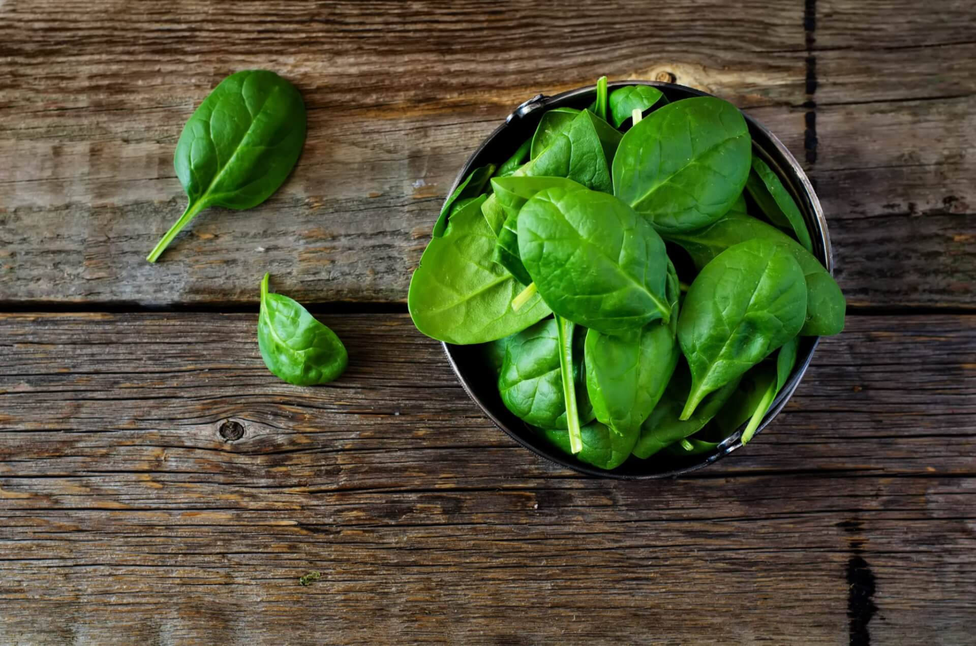 Does Spinach Contain Iron?