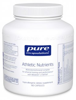 Athletic Nutrients by Pure Encapsulations