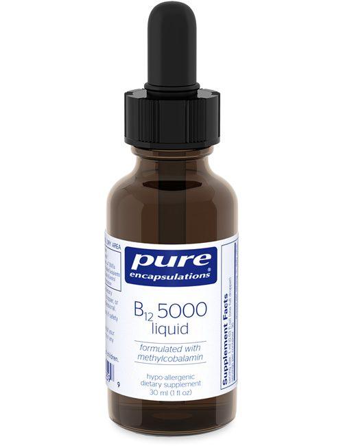 B12 5000 liquid by Pure Encapsulations