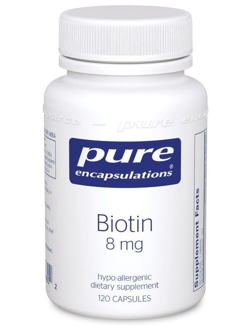 Biotin 8 mg. by Pure Encapsulations