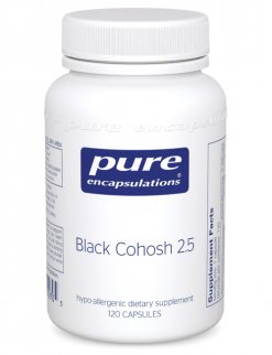 Black Cohosh 2.5 by Pure Encapsulations