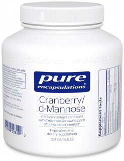 Cranberry/d-Mannose by Pure Encapsulations