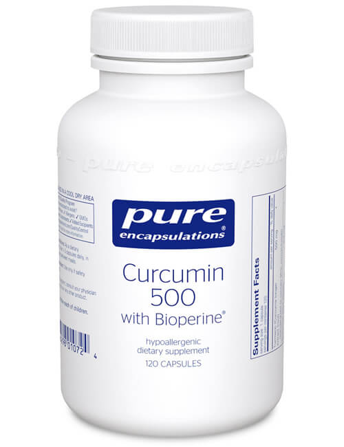 Curcumin 500 with Bioperine® by Pure Encapsulations