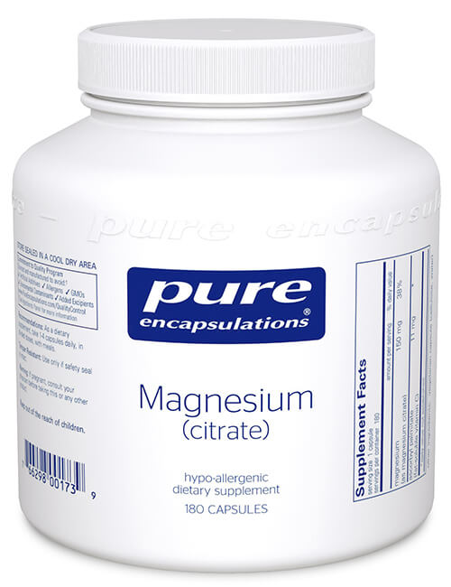 Magnesium (citrate) by Pure Encapsulations