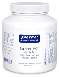 Nutrient 950® with NAC by Pure Encapsulations