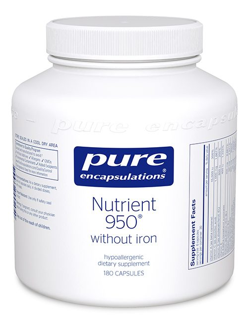 Nutrient 950® without iron by Pure Encapsulations