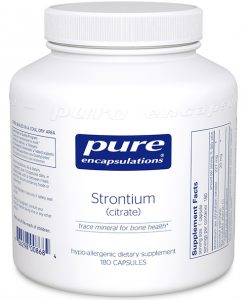 Strontium (citrate) by Pure Encapsulations