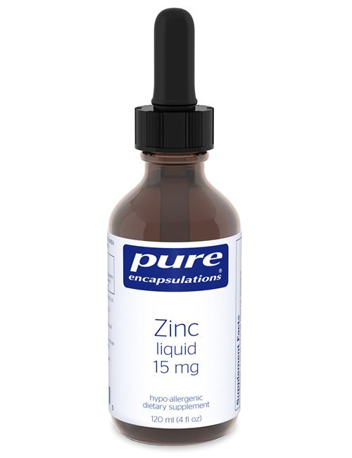 Zinc liquid 15 mg by Pure Encapsulations