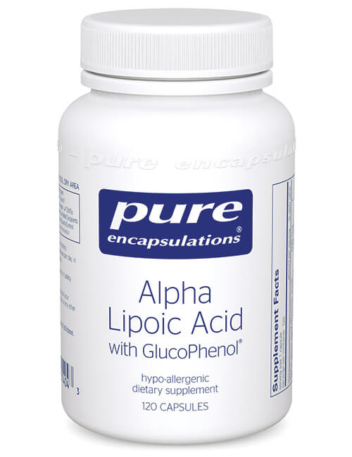 Alpha Lipoic Acid w/GlucoPhenol by Pure Encapsulations