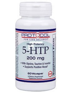 5-HTP 200 mg by Protocol For Life