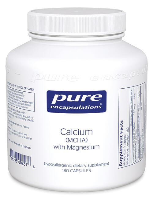 Calcium (MCHA) with Magnesium by Pure Encapsulations