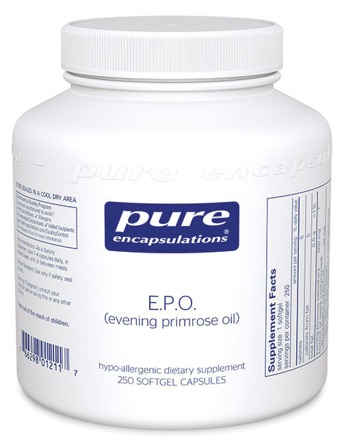 E.P.O. (evening primrose oil) by Pure Encapsulations