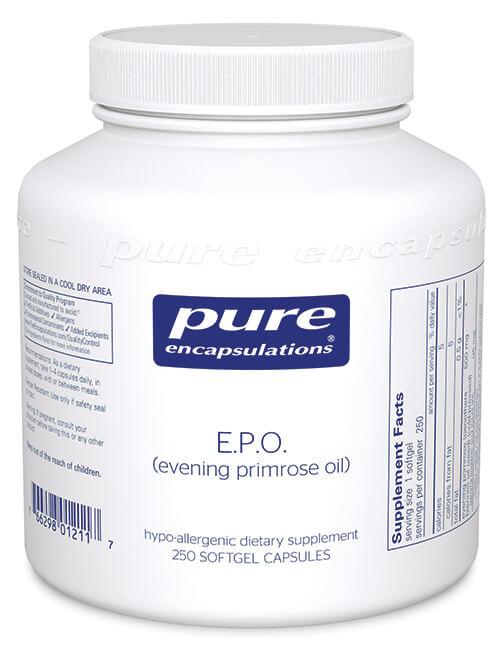 E.P.O. (evening primrose oil) by Pure Encapsulations
