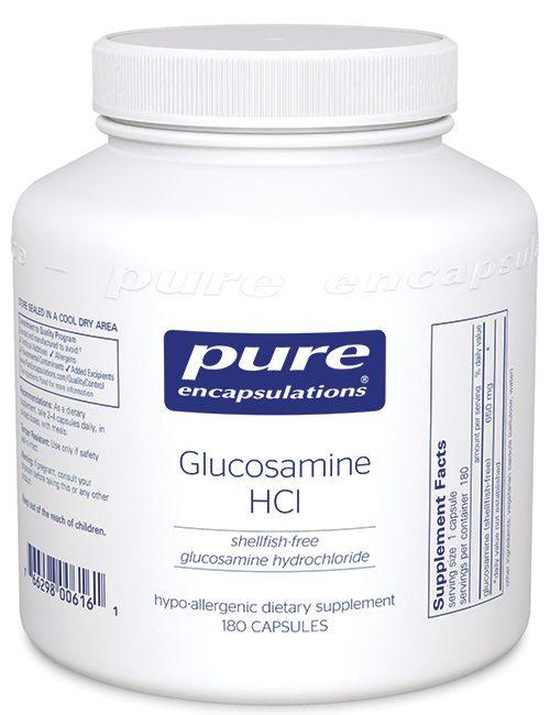 Glucosamine HCl (shellfish free) by Pure Encapsulations
