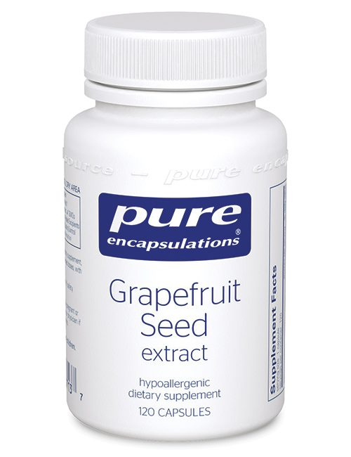 Grapefruit Seed extract by Pure Encapsulations