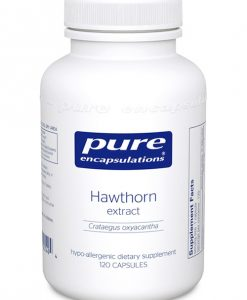 Hawthorn extract (Crataegus oxyacantha) by Pure Encapsulations