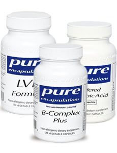 HRT/Oral Contraception Support by Pure Wellness Pack