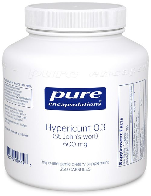 Hypericum 0.3 (St. John's Wort) by Pure Encapsulations