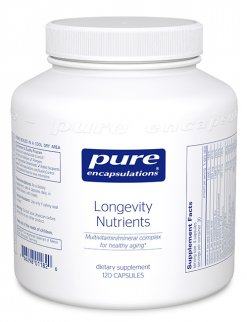 Longevity Nutrients by Pure Encapsulations