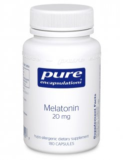 Melatonin 20 mg. by Pure Encapsulations