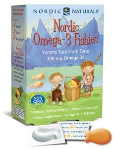 Nordic Omega-3 Fishies by Nordic Naturals Pro