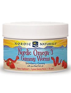 Nordic Omega-3 Gummy Worms by Nordic Naturals Pro