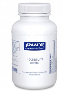 Potassium (citrate) by Pure Encapsulations