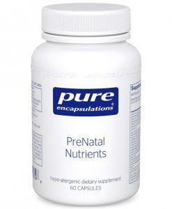 PreNatal Nutrients by Pure Encapsulations
