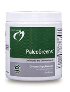 PaleoGreens Organic 270g Powder by Designs for Health