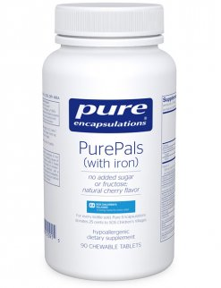 PurePals chewable tablet (with iron) by Pure Encapsulations