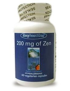 200 mg of Zen by Allergy Research Group