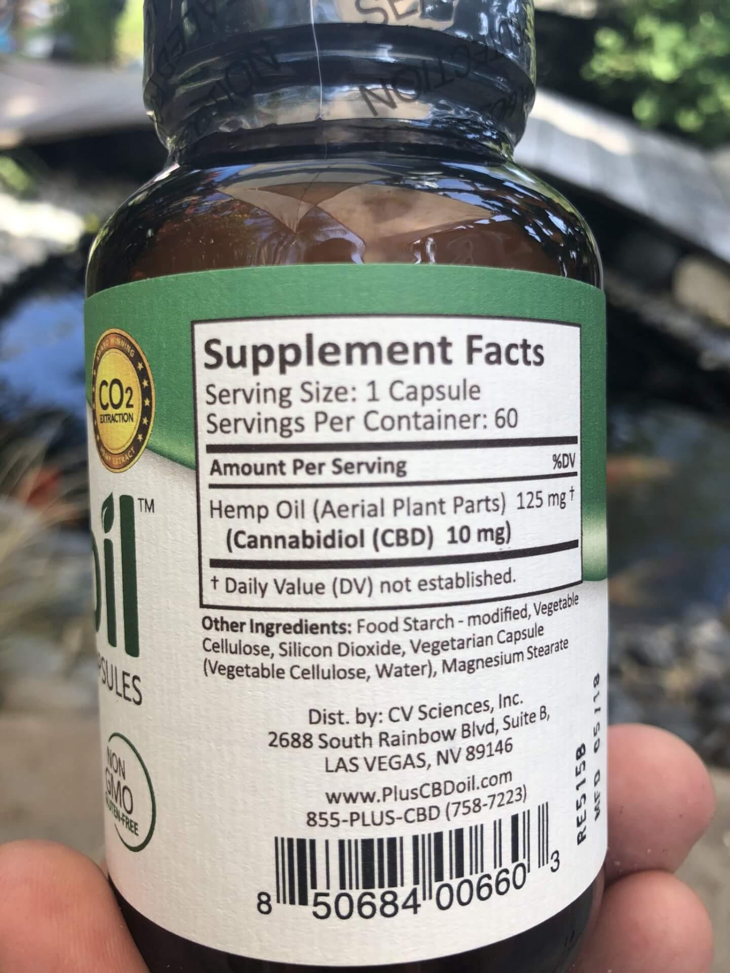 CBD Oil Ingredients