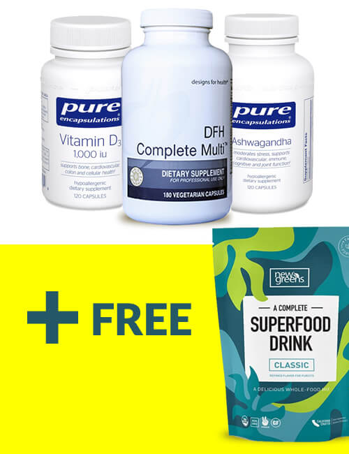 The Adrenal ReCode Tier 1 Supplement Package