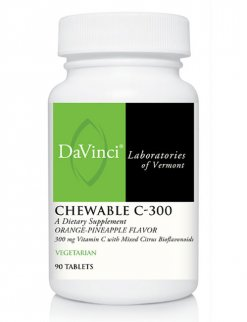 Davinci Chewable C Orange Pinapple